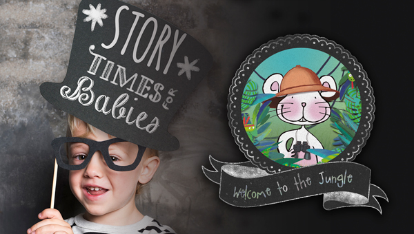 Storytime for babies: Welcome to the Jungle (1 - 2 años)
